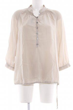 ae elegance Silk Blouse beige casual look