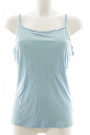 ae elegance Spaghetti Strap Top light blue casual look