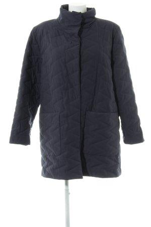 ae elegance Quilted Jacket dark blue zigzag pattern casual look