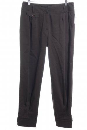ae elegance Jersey Pants black brown business style