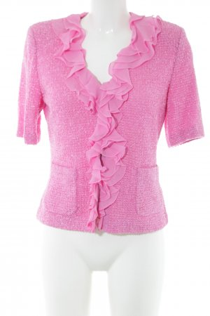 ae elegance Strickjacke pink Casual-Look