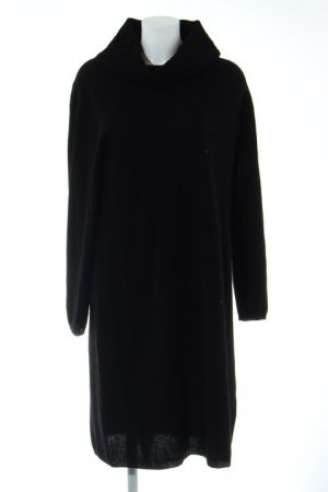 ae elegance Knitted Dress black casual look