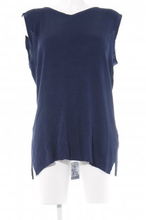 ae elegance Knitted Top blue casual look