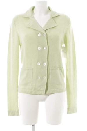 ae elegance Knitted Vest pale green casual look