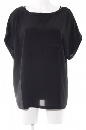 ae elegance T-Shirt schwarz Business-Look