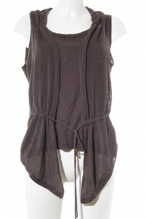 ae elegance Strappy Top grey brown casual look