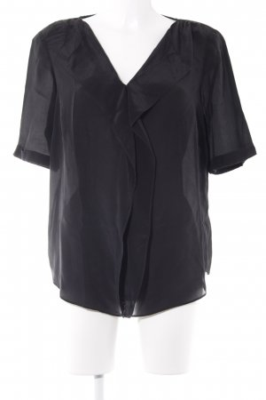 ae elegance V-Neck Shirt black business style