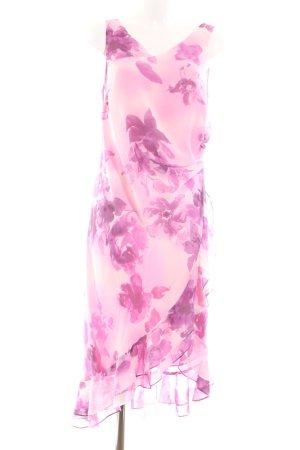 ae elegance Flounce Dress pink-cream allover print elegant