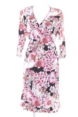 ae elegance Vestido cruzado estampado floral look casual