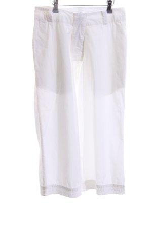 Aem Kei NYC Pantalón pirata blanco estilo «business»