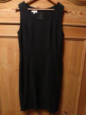 Vestido ceñido de tubo negro Lino