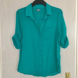 American Eagle Outfitters Shirt Blouse turquoise