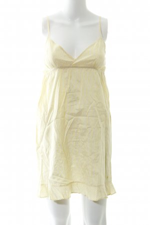 Aerie Haut à fines bretelles jaune-blanc motif rayé style mode des rues