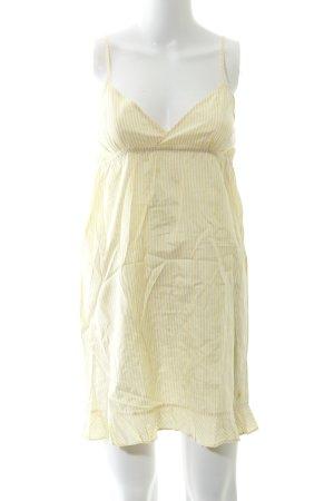 Aerie Spaghetti Strap Top yellow-white striped pattern street-fashion look