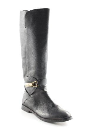 AERIN Absatz Stiefel schwarz Casual-Look