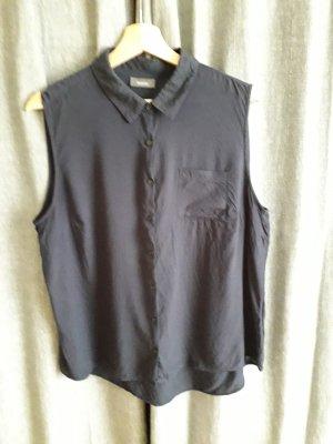 C&A Camisa de mujer azul oscuro Viscosa
