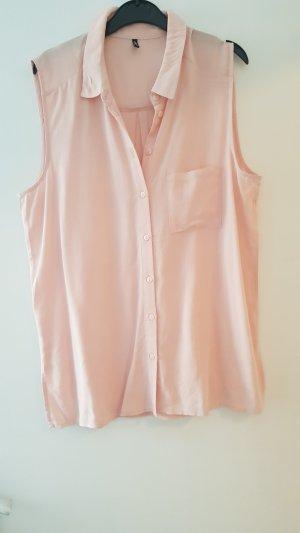 Only Blusa sin mangas rosa empolvado-rosa