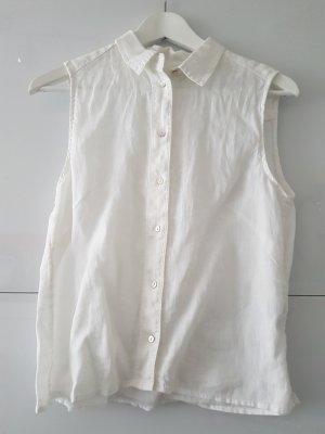 Ärmellose Bluse aus 100% Leinen!!