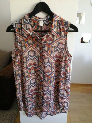 Ärmellose Bluse by H&M