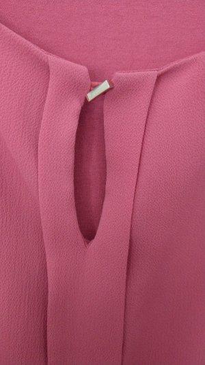 Ärmellose Bluse, Comma, 38, dunkel magenta