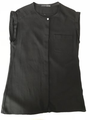 Atmosphere Mouwloze blouse zwart