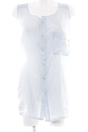 ärmellose Bluse himmelblau Casual-Look