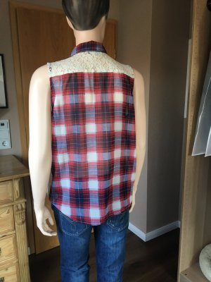 Ärmellose Bluse im Rockabilly Style