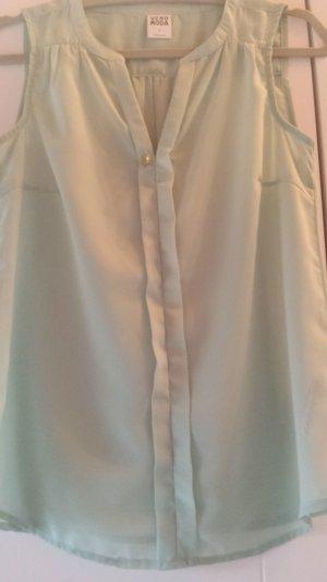 ärmellose Bluse in mint von Vero Moda
