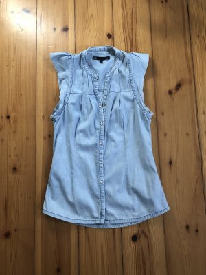 WE Jeans blouse azuur Katoen