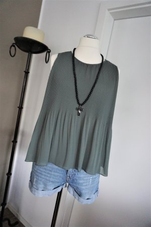 Zara Sleeveless Blouse khaki