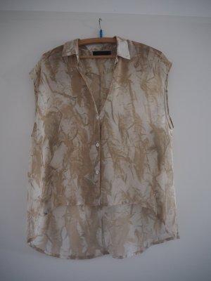 Ärmellose Bluse, leicht transparent von Tiger of Sweden