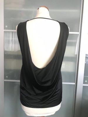 Ärmellose Bluse mit Rückenausschnitt
