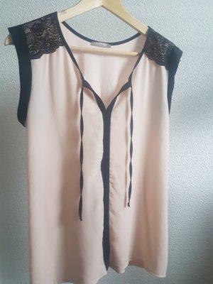 Orsay Sleeveless Blouse black-pink