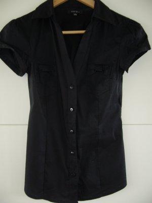 Ärmellose Bluse schwarz Amisu XS 34