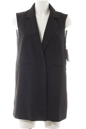 ärmellose Bluse schwarz Elegant