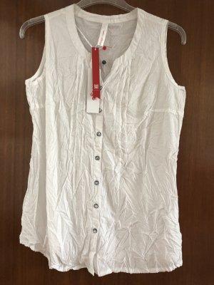 Sheego Camisa de mujer blanco