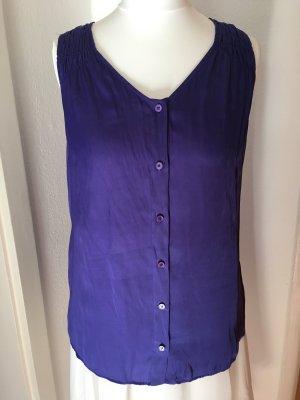 Ärmellose Bluse von Strenesse lila violett Gr.34
