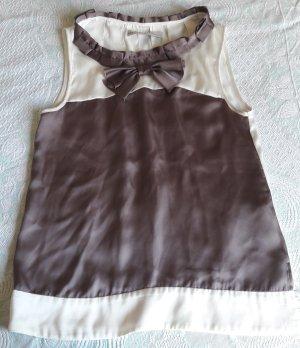 Ärmellose Bluse von Zara