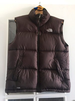 The North Face Piumino smanicato multicolore Poliestere