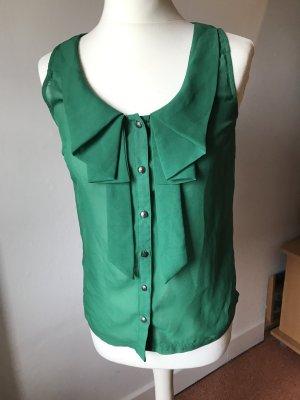 ärmellose grüne Bluse