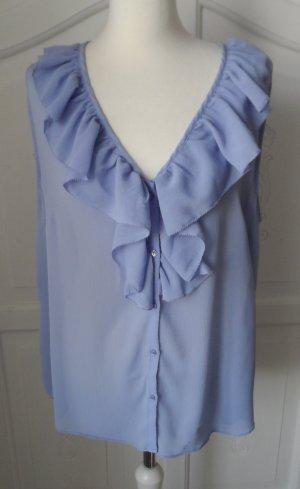 H&M Blouse sans manche violet polyester