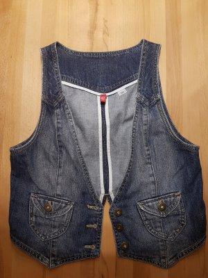 ärmellose Jeans Weste in Gr.42
