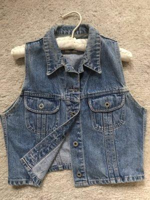 Ärmellose Jeansweste