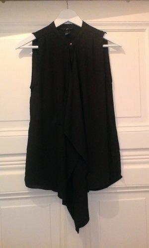 H&M Camicetta a maniche corte nero Poliestere