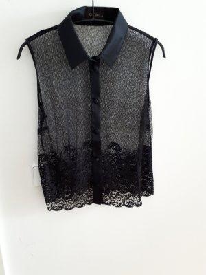 Oroblu Kanten blouse zwart