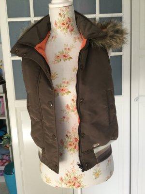 Roxy Gewatteerd vest veelkleurig Gemengd weefsel