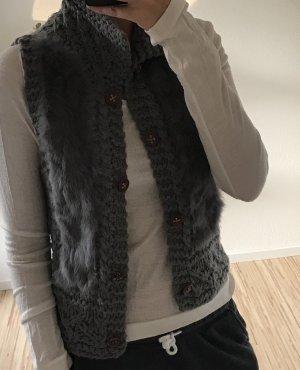 Kenzo Chaleco de punto gris