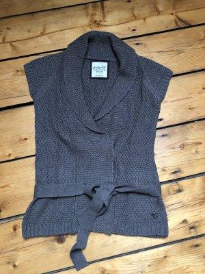Esprit Knitted Vest grey brown