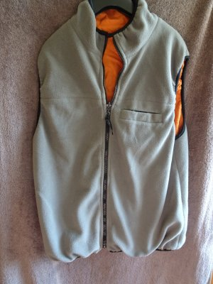 Tom Tailor Fleece Jackets neon orange-anthracite