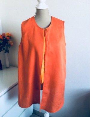 Vintage Blusa de lino multicolor